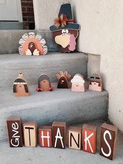 SAWDUST SANITY: Thanksgiving 2013 Thanksgiving crafts.  Wood