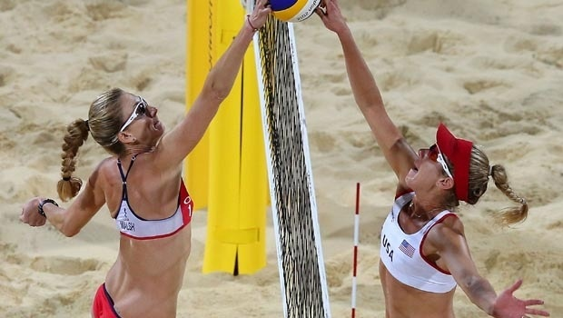 U.S. beach volleyball foes to team up in Rio? - CBS News