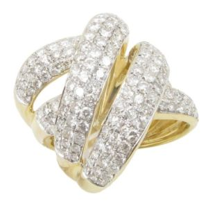 Luxury gold ring 14