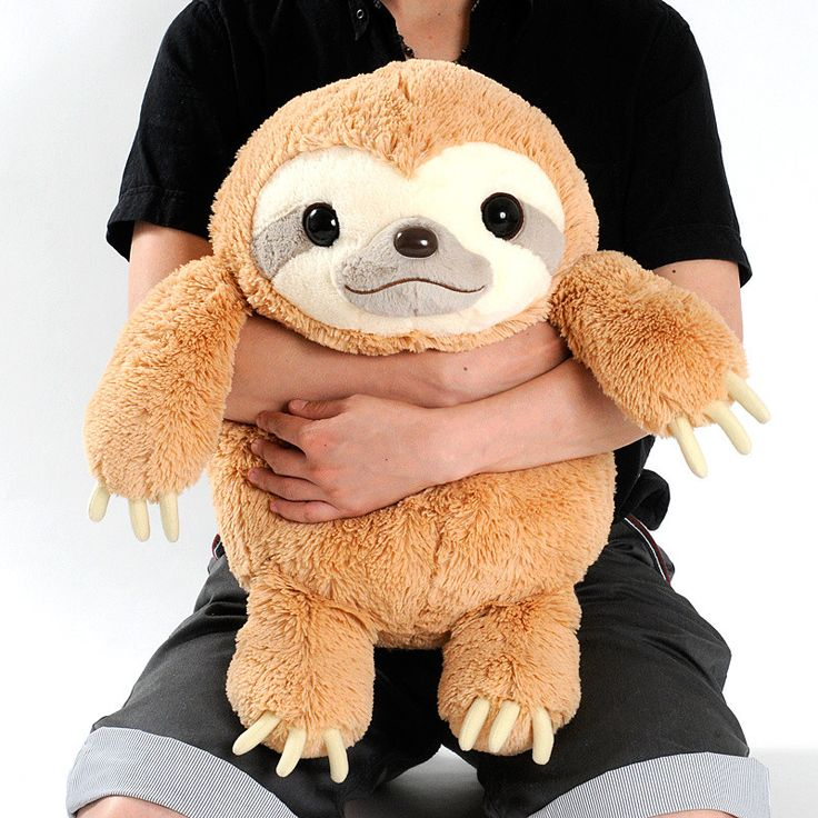 Namakemono no Mikke Sloth Plush Collection (Big)