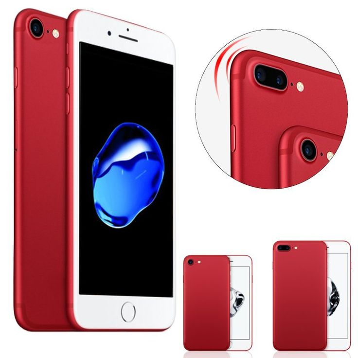 Product Red PC Shockproof Dropproof Back Case For iPhone 7/7 Plus…