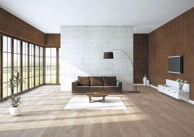 Baltic Wood, Sélection Du Sommelier, N°7 Pinot Noir Lita podłoga dębowa, uszlachetniona szarym olejem ECO.