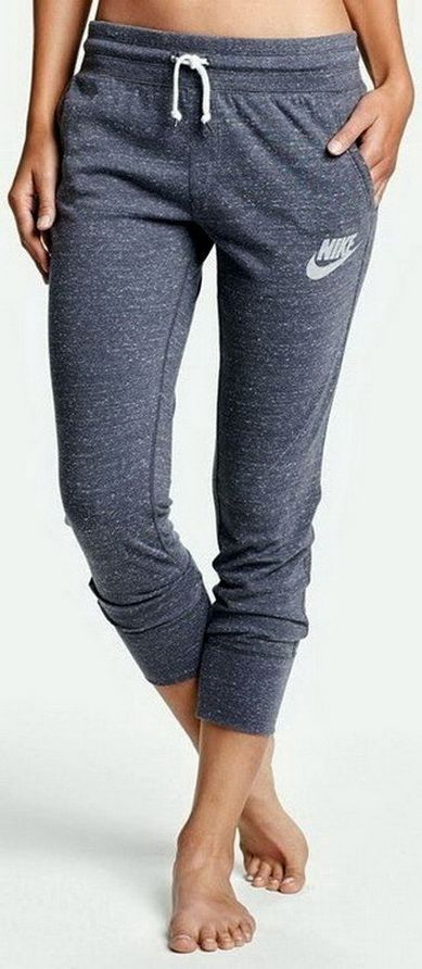 awesome ♡ Women's Nike Jogger Sweat Pants   Nike Workout Clothes   Good Fashion Blogge...