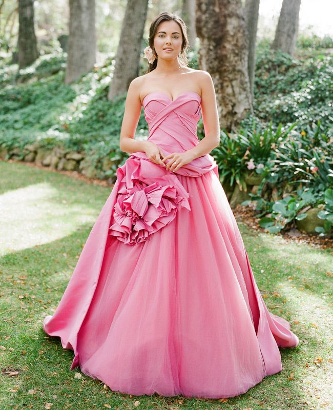 7 Dreamy Wedding Dress Details For A Woodland By Jose Villa Beautiful Dresses Pinterest Pink And