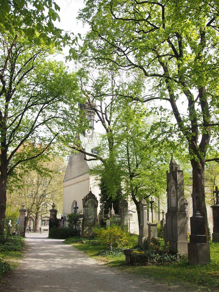 Alter Südfriedhof in München, Bayern - Cercate un posto diverso dal solito per una passeggiate? Il vecchio cimitero sud è un'oasi verde vicinissima al centro (davvero pochi passi dalla Sendliger Tor), dove perdersi osservando le vecchie lapidi, i monumenti arzigogolati e la profusione di fiori.