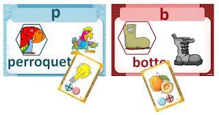 IPOTÂME ....TÂME: GS/CP/CE1 : jeu confusion de sons proches