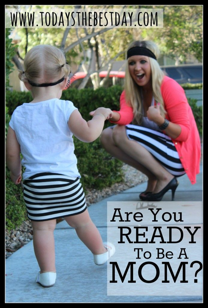 A list of questions to think about before starting a family - Perfect for every couple. - Are You Ready To Be A Mom?