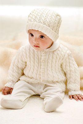 Babyjacke stricken - kostenlose Anleitung