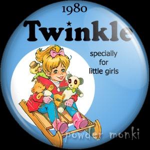 Twinkle Annual 1980 - Badge/Magnet ~ www.powdermonki.co.uk ~ £0.99