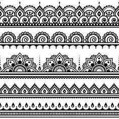 Vektor-Verzierung - orient traditionellen Stil auf weiß
