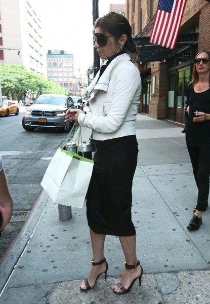 Carine Roitfeld Photos - Carine Roitfeld Steps Out in New York - Zimbio