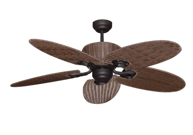 The Hamilton Palm Leaf ceiling fan by Martec allows for any household to be transformed into an island escape. Available in a high quality Old Bronze finish, you have the choice and flexibility of adapting a matching light kit (MHLKOB) to help light up any room.   The Hamilton, with its 12.5 degree blade pitch is ideal for both bedrooms and living areas where the feeling of being on a tropical island is desired.