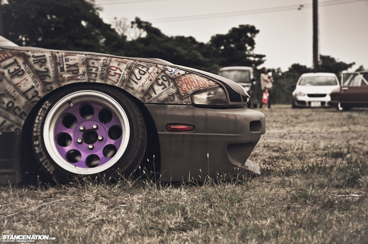 That One Nissan S14.. | Stance:Nation - Form > Function #Acura #JDM #Rvinyl ========================== http://www.rvinyl.com/Acura-Accessories.html