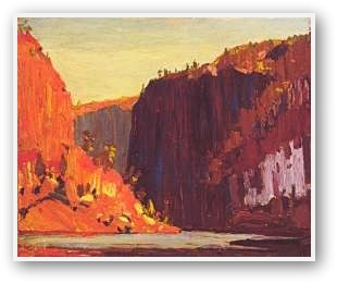 Tom Thomson  Petawawa Gorge