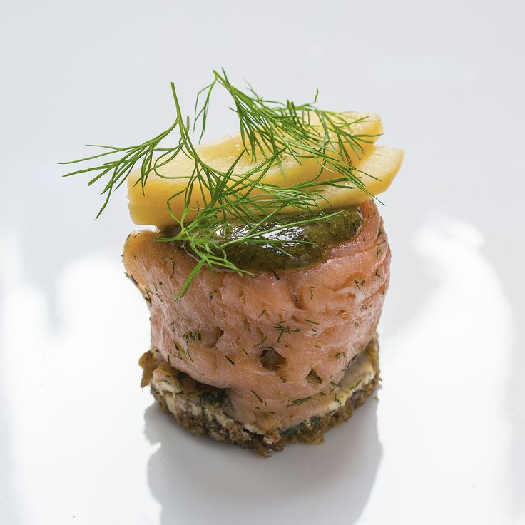 Salmon smushi
