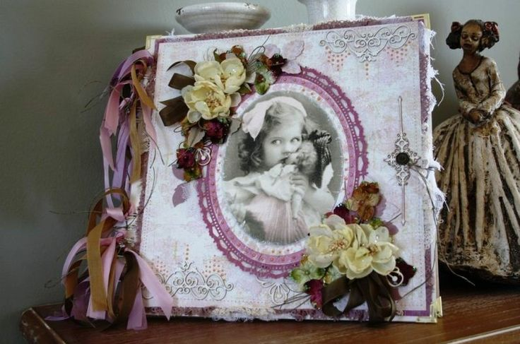 Scrapbooking album for a girl ~ Άλμπουμ Scrapbooking για κορίτσι