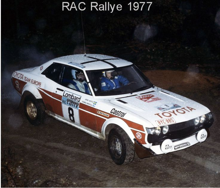 1977 - RAC -Toyota Celica - Mikkola/Hertz