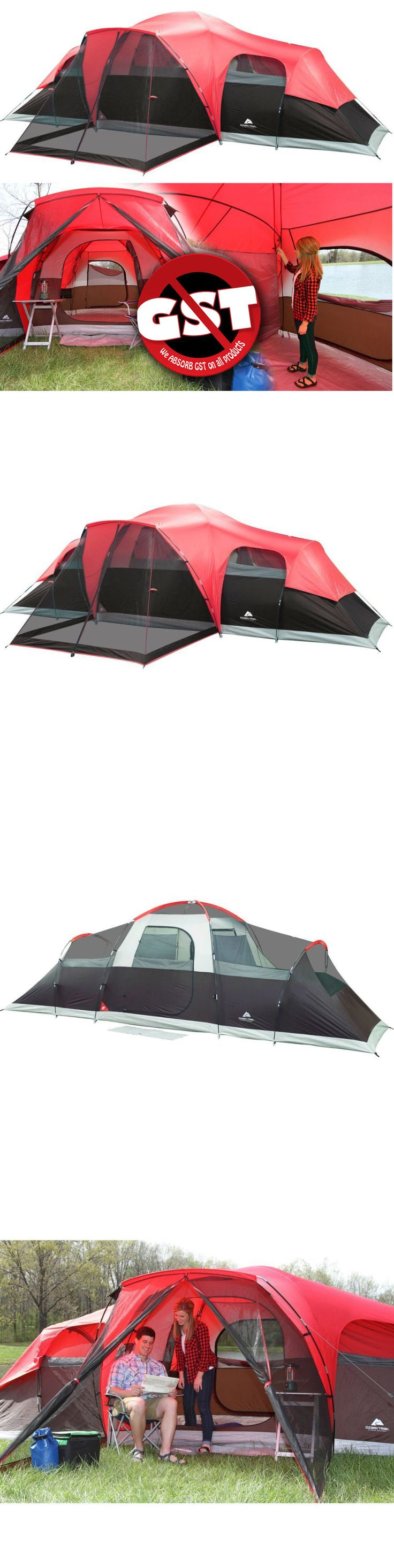 Tents 179010: Ozark Trail 3 Room 10 Person Waterproof Tent Large Family Camping Outdoor Cabin -> BUY IT NOW ONLY: $127.61 on eBay!