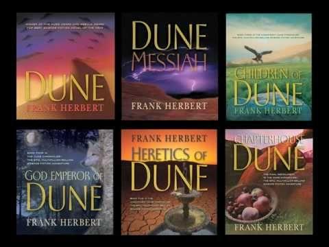 Recap of Frank Herbert and the Dune series.