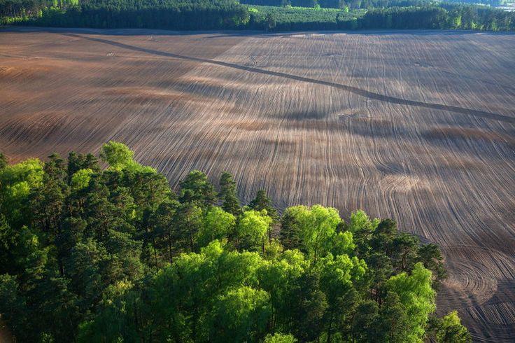 Nadrowo, pejzaż rolniczy Warmii