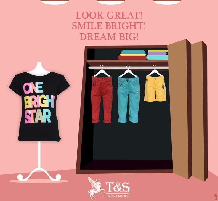 For the bright kids. #kidswear #talesandstories #clothing