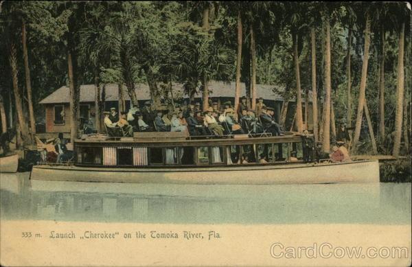 Launch Cherokee on the Tomoka River Florida