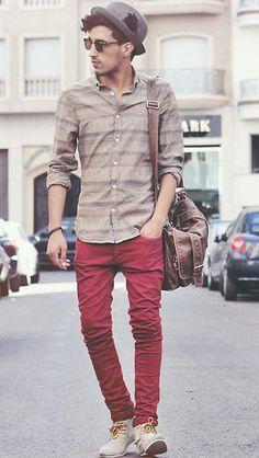 Moda masculina   Saiba como usar a tendência das calças coloridas