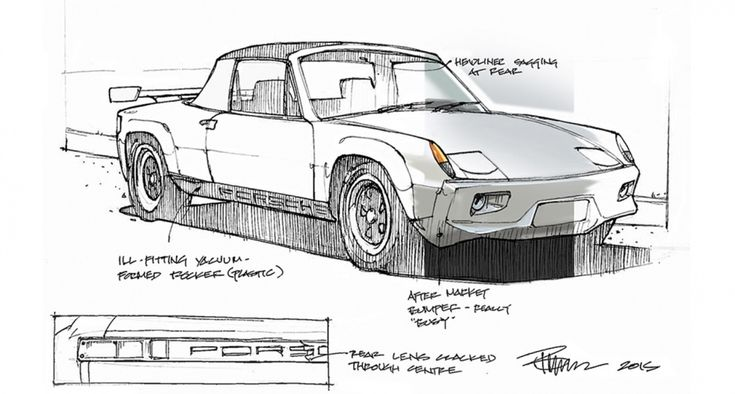 """I've been told that I was born in the wrong decade,"" says Canadian industrial designer turned college professor Bruce Thomson. ""Everything from music to cars was better in the 60s and 70s, at least in my view."" We'd have to agree.  	Master draftsman"