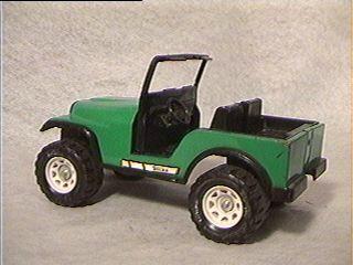Green Tonka Jeep