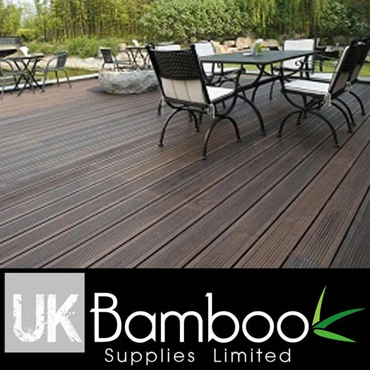 Bamboo Decking Boards - XTreme 1.85m