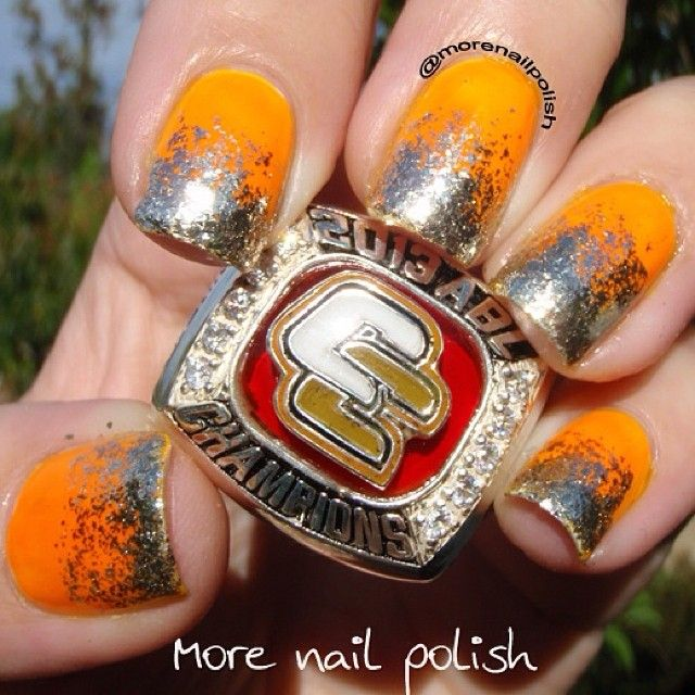 SnapWidget | Showing off my hubby's Australian Baseball League Championship ring from last year. It's huge! These were the nails I wore to the game on Friday, when they lost. But they won on the road yesterday and today so they are now off to the Championship series for 2014! Go Cavs! #canberracavalry #nailpolish #aussienails #nails2inspire #nailpromote #iinailart #ulta3