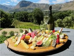 Franschhoek has excellent eateries