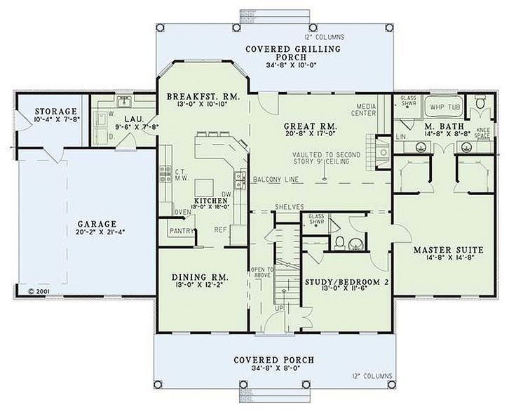 192 best House Plans images – Colonial Style Home Floor Plans