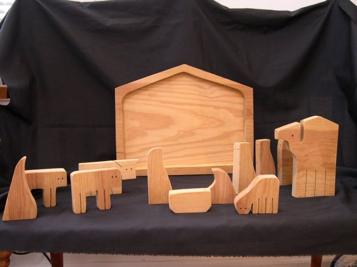 Wooden Nativity Puzzle Just Like When I Was A Kid