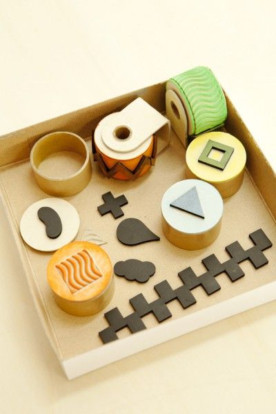 roller stamps // Torafu Architects: Torafu Stampkit, Stamps Paperstamp, Stamps Kits, Crafts Ideas, Desserts Ideas, Paper Stamps, Paperstamp Kits, Diy Cards, Interiors Ideas