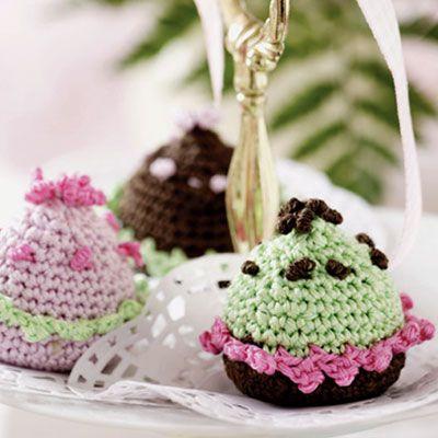 Hæklet muffin