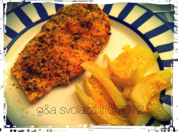 This last is my main dish! I do it often because it's fast, light but very tasty!  Try it will amaze you!    http://www.svolazzi.it/2012/03/petto-di-pollo-dietetico-ma-gustoso.html
