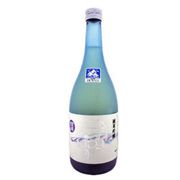 Sake Gassan no Yuki Junmai Ginjo. Für diesen excellenten Reiswein werden ausschliesslich das Schmelzwasser vom Mondberg und regionale Produkte verarbeitet.
