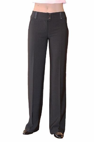 Прямые строгие брюки
