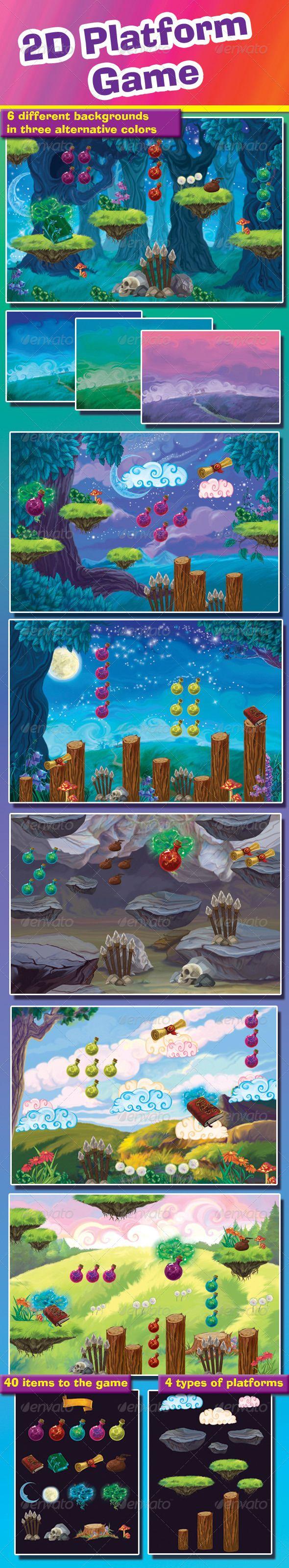 2D+Platform+Game