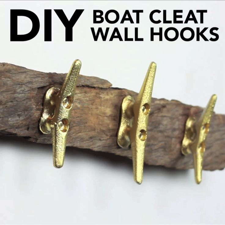 DIY Boat Cleat Wall Hook
