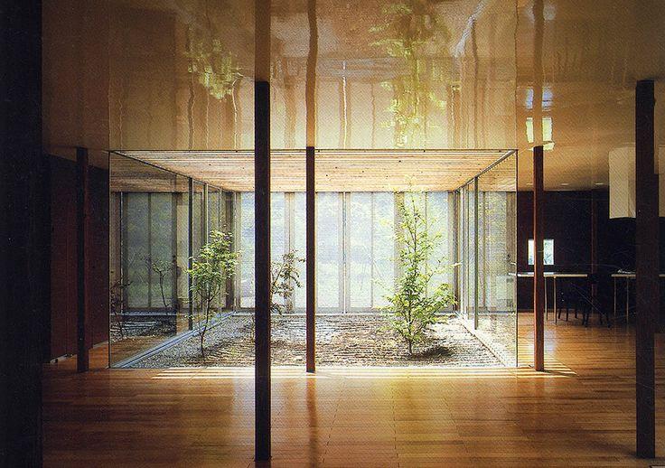 "294. Ryue Nishizawa /// Weekend House /// Usui-gun, Gunma, Japan /// 1997 OfHouses presents ""Pritzkers' First Houses"": In 2010 the Pritzker Prize was awarded to both Kazuyo Sejima and Ryue Nishizawa...."