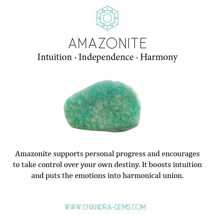 Amazonite Crystal Healing Properties Intuition Independence
