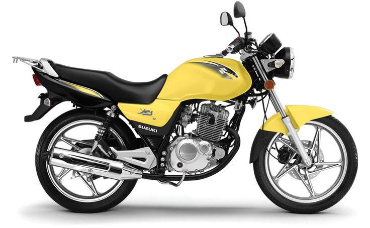 Ficha técnica da Suzuki EN 125 Yes SE 2011 a 2018
