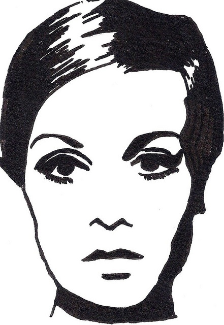 Twiggy Illustration: Twiggy Illustrations, People Mistakes, Random Pins, Illustrations Artspiration1, Bw Illustrations, Illustrations Black, Art Twiggy, Illustrations Illustrations, Totally Twiggy