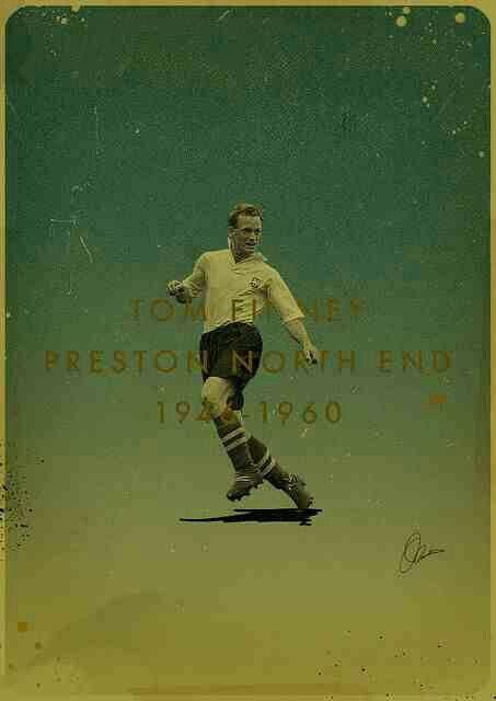 Tommy Finney of Preston North End wallpaper.