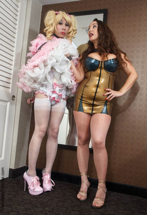 Classy femdom demands anal in cfnm group 4