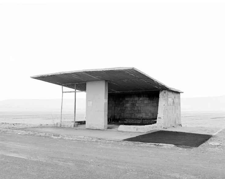 bus stop in Armenia : Eriwan-Gjumri   © Ursula Schulz-Dornburg