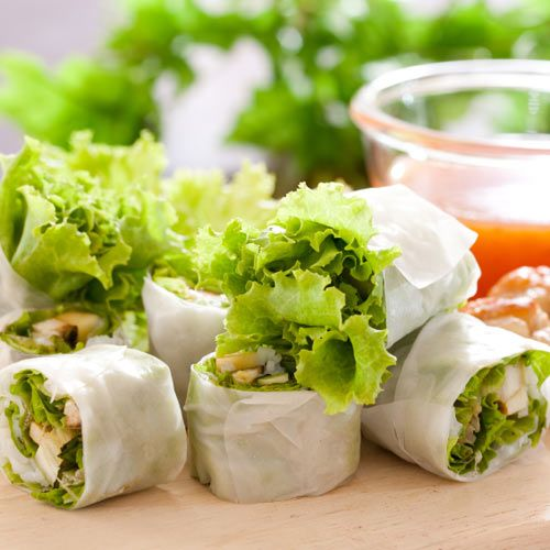 Gluten free spring rolls