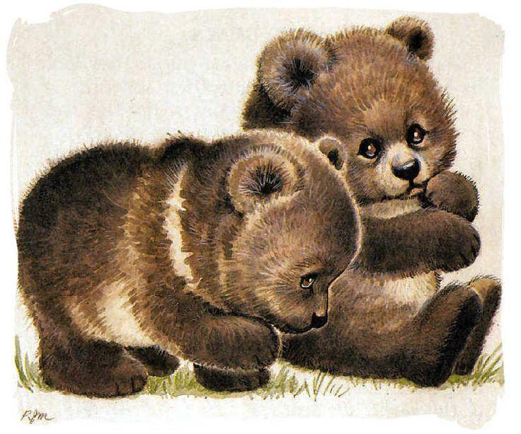 Картинка медведя для детей анимация, днем рождения мужчине